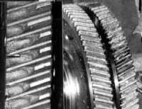 НаКачканарском ГОКе закалка ТВЧ заменена плазменной закалкой, что устранило выкрашивание зубьев приэксплуатации.